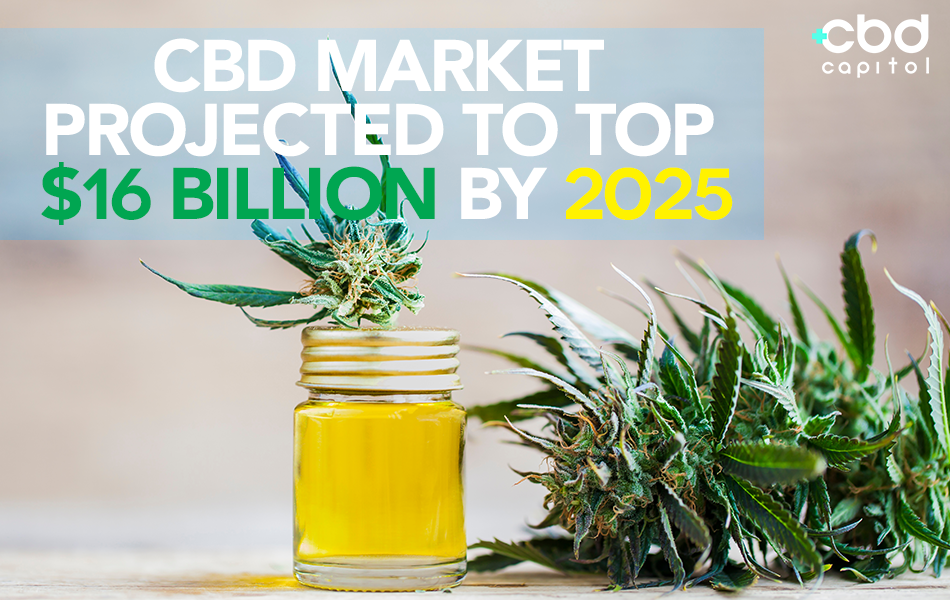 CBD NOW/Big Boom Theory: CBD Market Projected To Top $16 Billion By 2025
